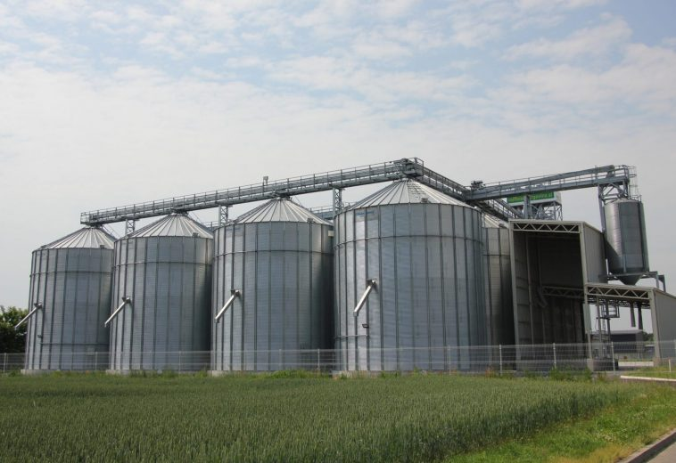 Sušilnica za žita s stolpnimi silosi in skladiščem, Odranci