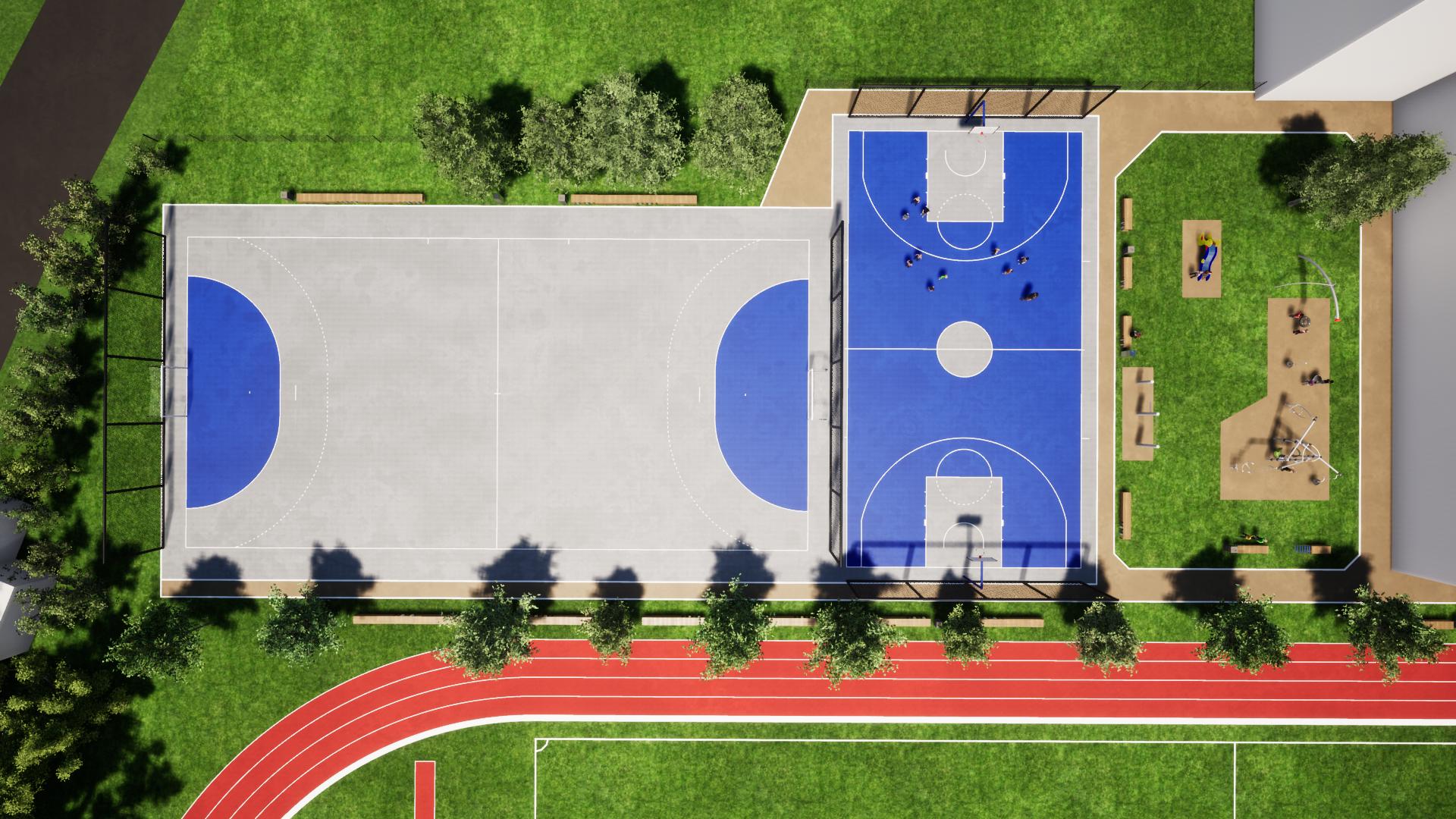 Ureditev-modernizacija igrišč v športnem parku v Črenšovcih